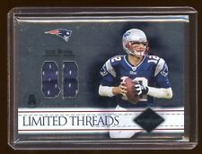 2004 LIMITED TOM BRADY DUAL GAME WORN JERSEY #D /75 PATRIOTS SUPER BOWL CHAMPS !