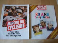 RIVISTA CICLISMO FRANCIA=MIROIR DU CYCLISME N°291 10-11/1980=SPECIALE 1960-1980