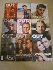 Out Magazines - Brand New Lot of 26 Issues from May 2013 to November 2015