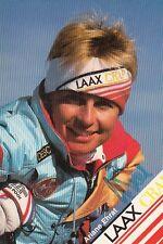 Ariane Ehrat: WM 2.1985 partenza SKI ALPIN sui
