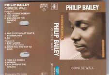 PHILIP BAILEY - CHINESE WALL MC HOLLAND CBS © 1984 AUDIO KASSETTE TAPE CASSETTE