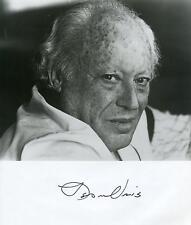 Leon Uris Exodus / Trinity Author / Novelist / Writer Signed Photo Autograph