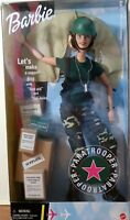 """Barbie Paratrooper Doll 11 1/2"""" Blonde  Special Edition 2000 New in Damaged Box"""