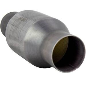 2.5 Universal High Flow Performance Stainless Catalytic Converter OEM# 410250