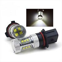 P13W DRL Fog Light Bulbs CREE LED Bulbs For Audi A4 Q5 12277C1 12277 COLD White