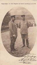 Kaiser Wilhelm Foto-AK 1915 aufgenommen v.d. Kaiserin Adel und Monarchie 1702140