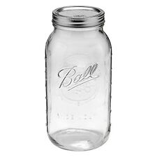 Ball Mason Jar Wide Mouth 64oz Vintage Glass 1/2 Gallon Canning Gift 1 Set w/Lid