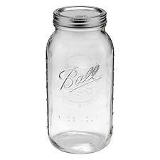 Ball Mason Jar Wide Mouth 64oz Vintage Glass 1/2 Gallon Canning Gift 1 Set w/Lid