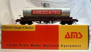 Accucraft AMS AM31-450 Tank Car – Associated Oil CO. #302 1:20.3 Scale