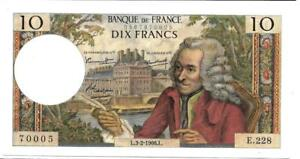 France 1966 10 Francs P147b - Scarce note