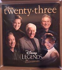 Disney D23 Official Fan Club Fall 2017 Magazine Legends 30th Anniversary