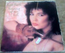 "KATE BUSH running up that hill*under the ivy 1985 UK EMI KB1 7"" 45 GATEFOLD PS"