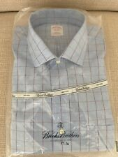 Brooks Brothers Non Iron Dress Shirt New With Tags In Packaging 17-36