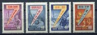 28303) RUSSIA 1959 MNH** Nuovi** 7 years plan 4v