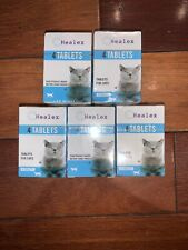 Healex Cat Dewormer Tablets for Cats with Tapeworm & Roundworm PACK OF 5(20)