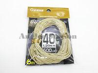 Opass Pro V1 Kevlar #40 500lb/6m Hollow Braided Fishing Assist Line