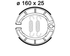 AP Bremsbacken Satz Yamaha XT 500/XT500 (1U6) ´76-89, LMS825, Vorderrad