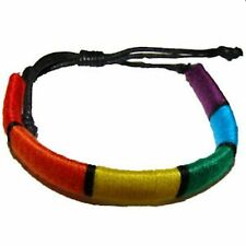 Gay Pride Bracelet Friendship Bracelet Rainbow Tube