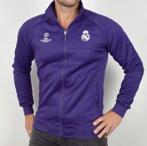Adidas Real Madrid Men's Training Jacket Tracktop Football Champions League