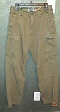 OLD NAVY- GREEN CAMOFLAGE CARGO PANTS FOR WOMEN- SZ 30W-32L- USED TWICE