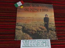ZUCCHERO LP ORO INCENSO & BIRRA MADE IN MEXICO VINILE MESSICO VINYL