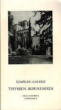 Berkes, borghero, colección thyssen-bornemisza, villa favorita Castagnola, 1974