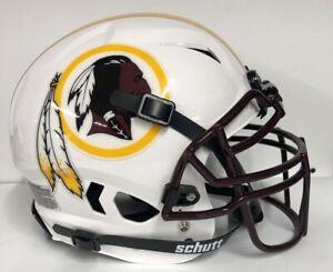 Washington Redskins Full Size Custom Authentic Schutt Vengeance Football Helmet
