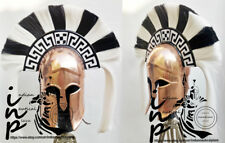 Mittelalterliche griechische korinthische Rüstung Helm Römischer Ritter Spartani