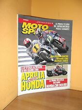 MotoSprint - n° 21 - 20/26 Maggio 1992 - Honda CBR 900 RR - Rivista ottima