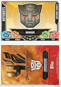 Topps Transformers Trading Card  - Autobots Cards