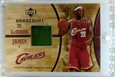 2006 06-07 UPPER DECK HARDCOURT LeBron James GAME USED FLOOR COURT #GF19, RELIC