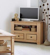 Home Amersham 2 Drawer Solid Wood TV Unit - Light Pine