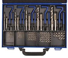 BGS PRO+ Gewinde-Reparatursatz, M5-M12, 130-tlg.Gewindewerkzeuge Gewindehülsen