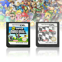 MARIO KART DS+Super Mario Bros Game Card For Nintendo 3DS DSI DS XL Xmas Gift