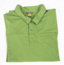 Eddie Bauer Men's Golf Polo Shirt Athletic Comfort Green 2Xl Xxl Sport Active