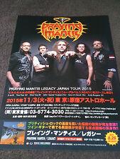 Praying Mantis / Tour flyer / Japan