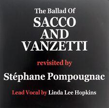 Stéphane Pompougnac CD Single The Ballad Of Sacco And Vanzetti - Promo - France