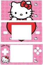 Hello kitty CAT VINYL SKIN STICKER NINTENDO DS LITE 10