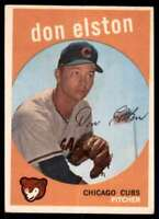 1959 Topps Don Elston Chicago Cubs #520