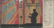 AGATHA CHRISTIE THE MAN IN THE BROWN SUIT - UK 1930 w/RARE DUST JACKET