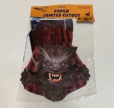 Halloween Jointed Paper Cutout Halloween Party Decoration Wolf man Werewolf 18�