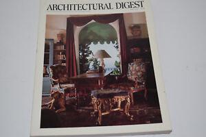 """April 1988 """"Architectural Digest"""" Magazine - Michael Douglas' Villa on Cover"""
