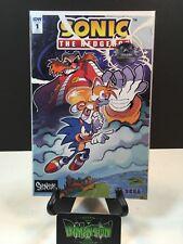Sonic The Hedgehog #1 Spencer's Variant FCBD IDW Comic Rare HTF NM