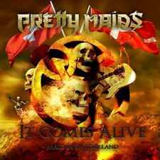 2 CD + DVD SET PRETTY MAIDS IT COMES ALIVE BRAND NEW SEALED