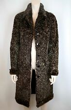 CHANEL NWT SHEARED LAPIN RABBIT FUR FULL LENGTH COAT JACKET, SILK LINING, $7945