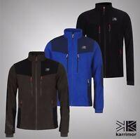 Mens Karrimor Outdoor Top Windproof Full Zip Hoolie Fleece Sizes from S to XXL