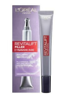 L'Oreal Revitalift Filler Replumping Eye Cream + Hyaluronic Acid
