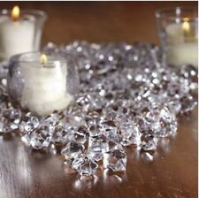 Clear Acrylic Ice Chips Table Scatter Confetti Floral Arranging Vase Filler 1lb