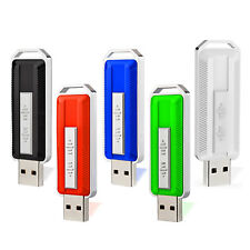 5Pack 16GB USB 2.0 Flash Drive Anti-skid Thumb Pen Drives Memory Sticks Storage