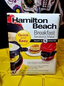 Hamilton Beach Breakfast Sandwich Maker EUC